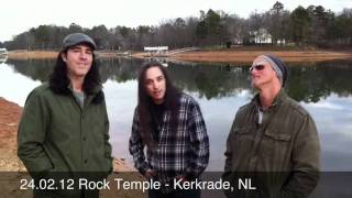 24.02.12 Rock Temple - Kerkrade, The Netherlands Agent Cooper / Tony MacAlpine