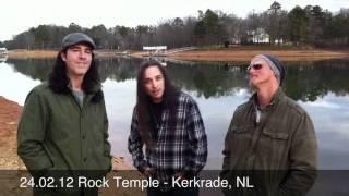 24.02.12 Rock Temple - Kerkrade, The Netherlands Agent Cooper / Tony MacAlpine