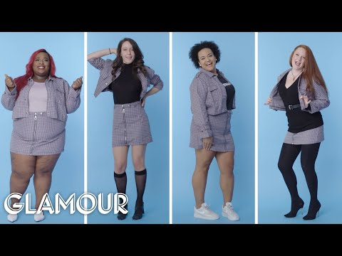 Women Sizes 0 Through 28 Try On The Same Matching Set | Glamour
