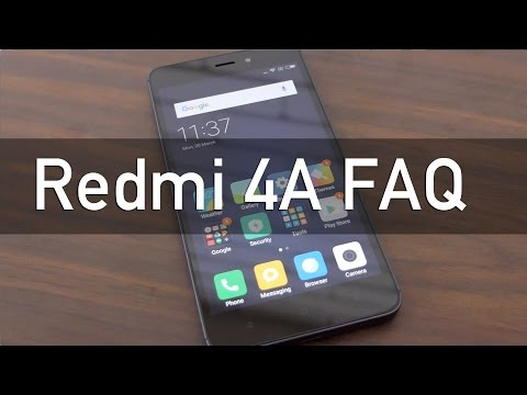 Redmi 4A Budget Smartphone Frequently Asked Questions