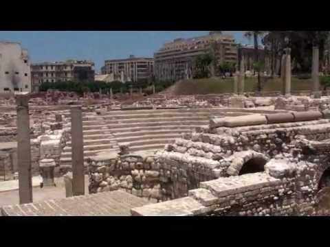 2fb1eff6d المسرح الروماني بالإسكندريةRoman Theatre - Alexandria 17-7-2012 ...