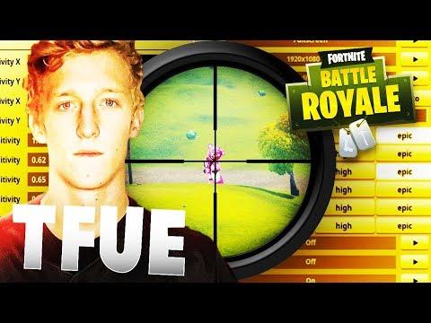 Faze Tfue Fortnite Season 6 Settings & Keybinds & Sensitivity - Fortnite Battle Royale
