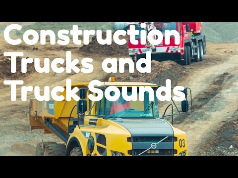 Toys For Boys With Truck Sounds - Truck Collection -