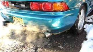 MR2 Turbo Berk exhaust, HKS SSQV bov
