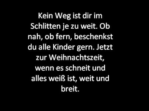 weihnachtsmann co kg song lyrics youtube