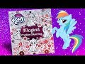 MLP coloring book 'Magical creative colouring' My little pony activity book