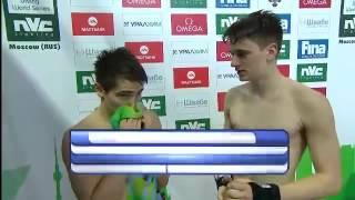FINA Diving World Series Platform 10m Men Synchro Moscow 2014