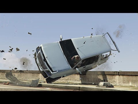 GTA 5 SHOCKING CAR CRASHES COMPILATION!!! thumbnail