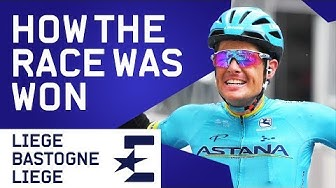 How The Race Was Won | Liège–Bastogne–Liège 2019 Highlights | Cycling | Eurosport