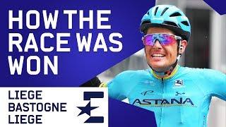 How The Race Was Won   Liège–Bastogne–Liège 2019 Highlights   Cycling   Eurosport