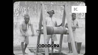 1910s South India, British Raj, Prison, From 35mm