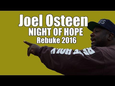 Joel Osteen's Night Of Hope 2016 // Street Preachers Rebuke American Gospel