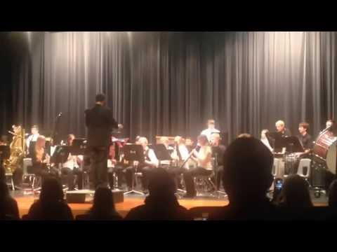 jgp-Platte Valley High School Band Performing Separation Composed by KC Guzman