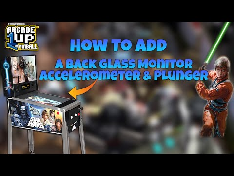 Arcade1Up Pinball Mod Tutorial - Part 2 from COOLTOY