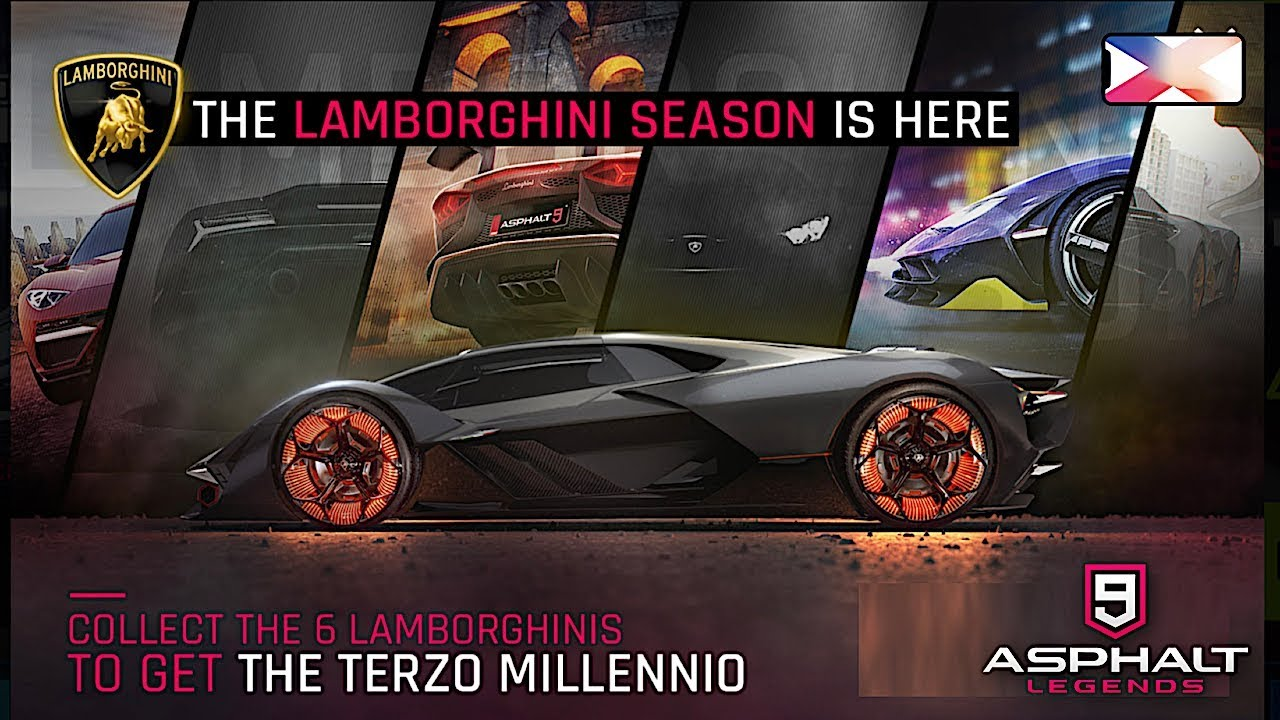 Asphalt 9 Legends Lamborghini Celebration Part 1 Holi Fest