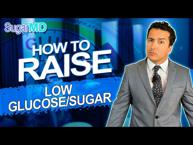 How to Fix Low Blood Sugar Quickly for Diabetics.SugarMD