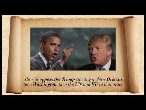 Obama  Prophecy: April 11 2017 & Pope 'Restored'