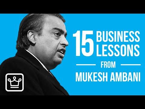 15 Business Lessons from Mukesh Ambani