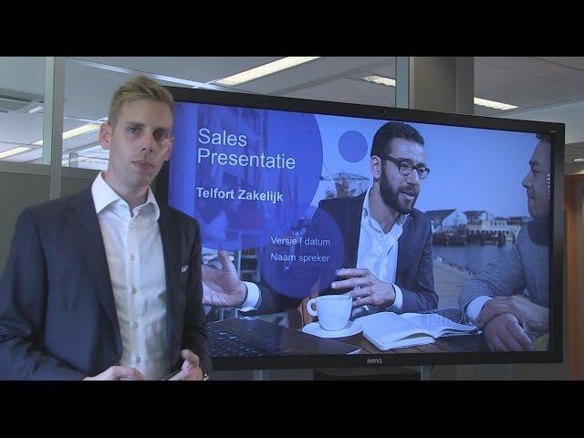 Video-demonstratie - Bedrijfspresentaties in PowerPoint
