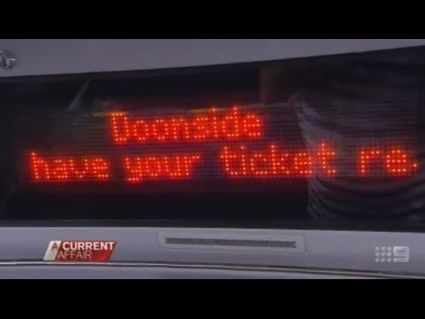 Sydney Trains Fare Evaders in Disguise- A Current Affair Report 27/2/2014