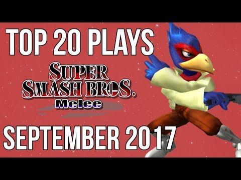 Top 20 SSBM Plays of September 2017 - Super Smash Bros Melee