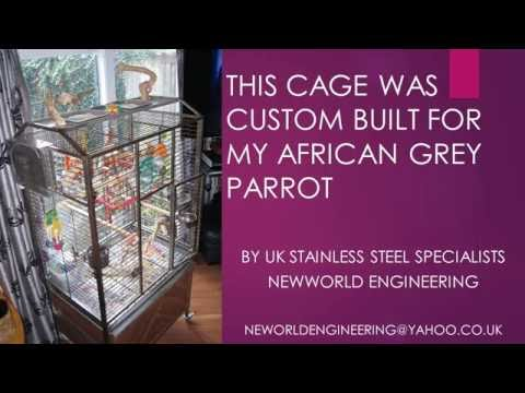 Luxury Parrot Cage