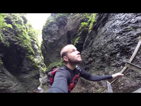 Slovak Paradise with GoPro Camera