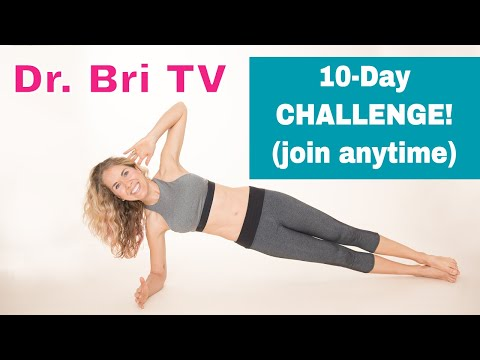 10-Day Stubborn Belly Fat Challenge