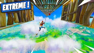 Course de Grappin Impossible à Finir ! Fortnite Terrain de Jeu