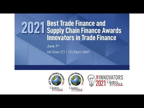 2021 Best Trade Finance and Supply Chain Finance Awards