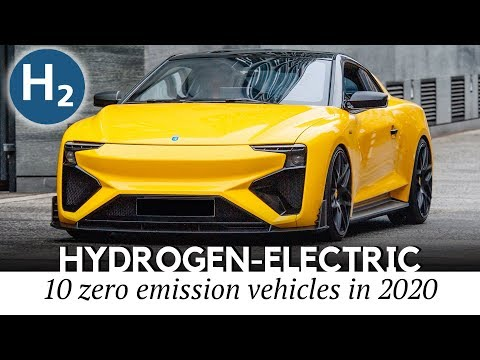 10 New Hydrogen-Electric Vehicles Restoring Interest Towards Fuel-Cell Technology