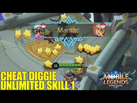 WOW!!! DIGGIE JADI SUPER OVER POWER DONK!!! BISA SOLO LORD DONK!! MAYHEM MODE MOBILE LEGENDS
