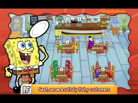 SpongeBob Diner Dash Android İos Free Game GAMEPLAY VİDEO