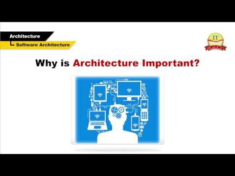 Software architechture and design principles & goals | IT Pathshala Video Tutorial