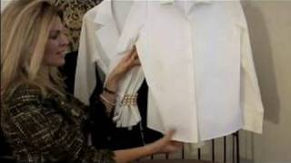 Fashion Tips for Your 30s : White Blouse Tips for Dress Suits
