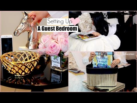 15 Ways To Create the Perfect Guest Bedroom- MissLizHeart