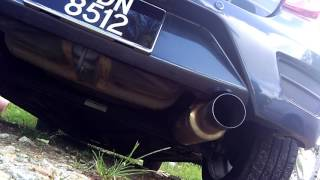 Axia apexi S flow exhaust system