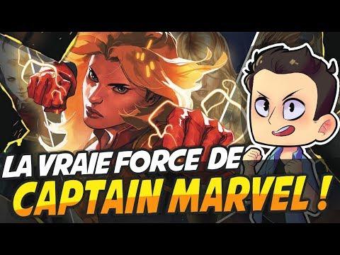 LA VRAIE FORCE DE CAPTAIN MARVEL
