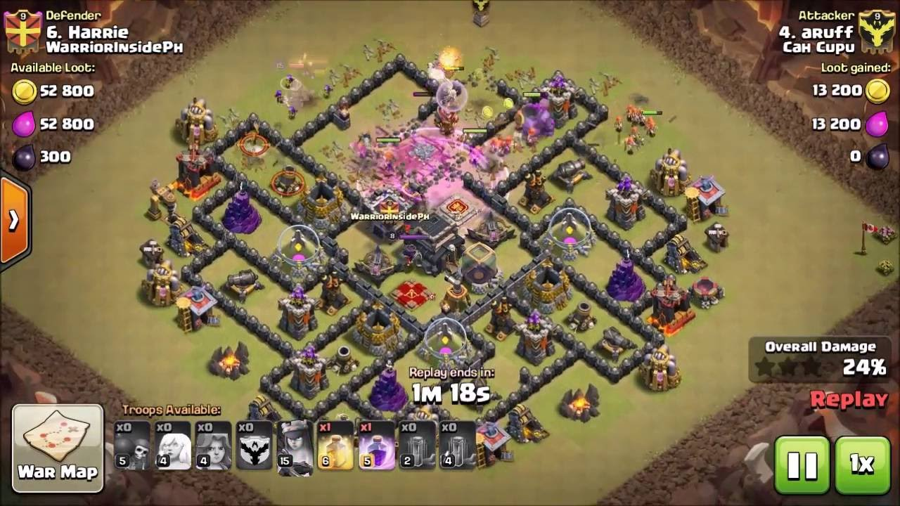How to turn your clash of clans best war attack th9 full valkyrie how to turn your clash of clans best war attack th9 full valkyrie from zero to hero publicscrutiny Image collections