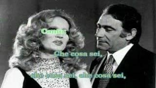 Karaoke - Parole Parole - Mina e Alberto Lupo