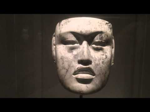Mask state of Veracruz Mexico Rio Pesquero Olmec culture c. 900-500 B.C. Dallas Museum of Art