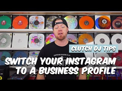 DJs Should Switch Their Instagram Profile to a Business Profile