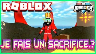 JE FAIS UN SACRIFICE..? | Roblox Mad city