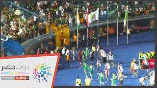 شاهد.. احتفالات جماهير الجزائر بعد التأهل لنصف نهائي أمم أفريقيا