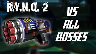 RYNO II (2) Vs. All Bosses. Ratchet and Clank 2, (NO NG+)