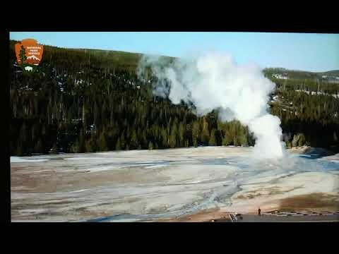 Yellowstone - Old Faithful/Afternoon Be Aware...   18 April 19
