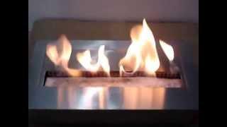 Bio Etanol Yakıtlı Bacasız Şömine