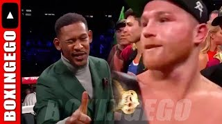 NEW: DANIEL JACOBS REACTS TO CANELO ALVAREZ FIGHT - SIGNS TO DAZN 3 FIGHTS!