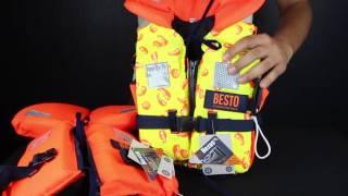 Обзор детских спасательных жилетов