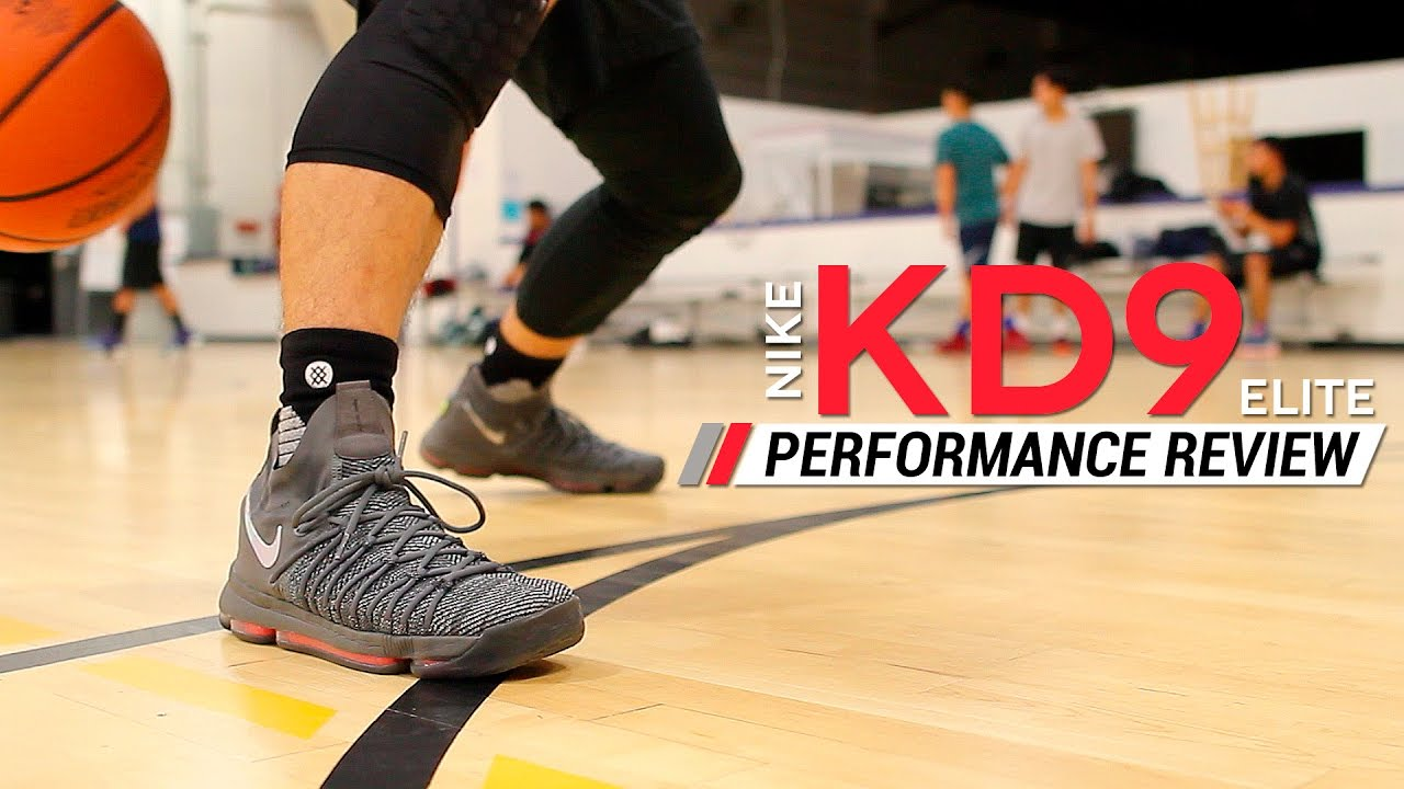 new arrival 6acc0 10f2f Nike KD 9 Elite - Performance Review - YouTube